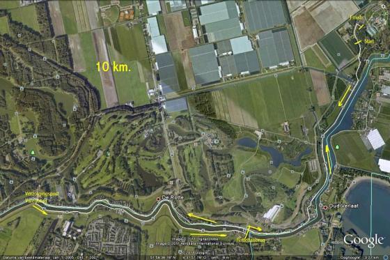 lansingerlandloop parcours_10km