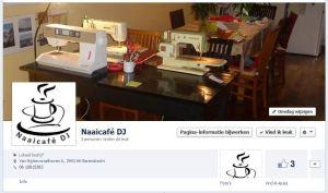 Knipsel facebookpagina naaicafé