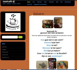 knipsel website naaicafé