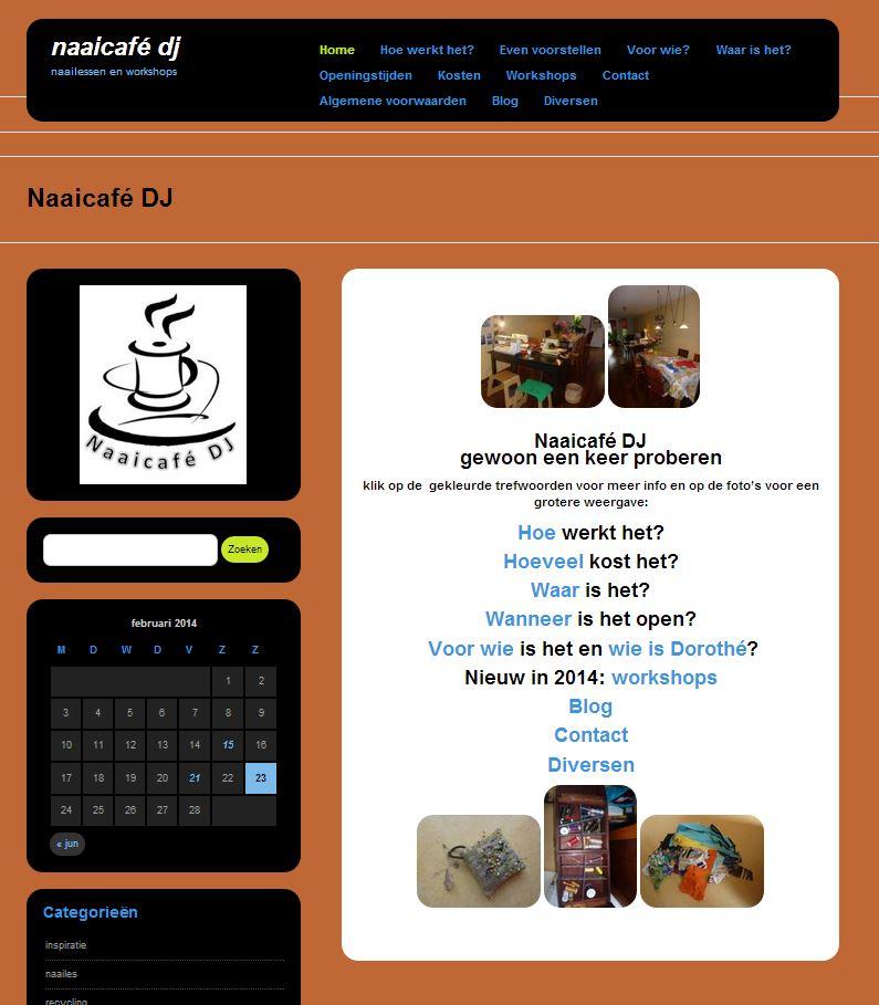 naaicafe restyle website feb 2014