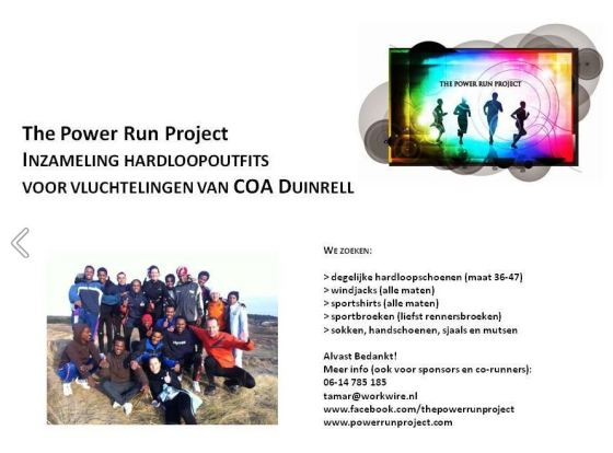 the power run project