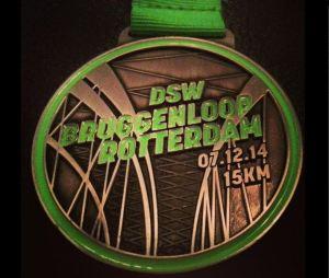 bruggenloop 2014 medaille