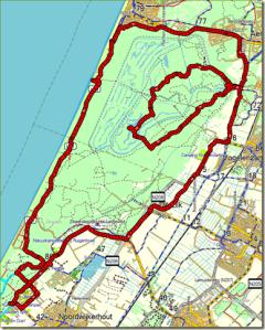 route noordwijkerhout