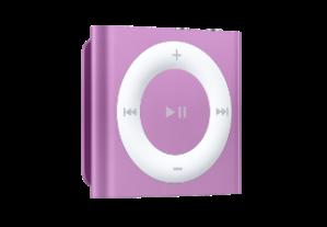 ipod shuffle paars