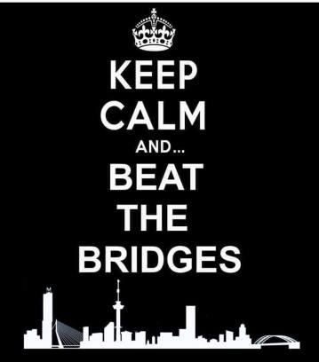 keep calm and beat the bridges
