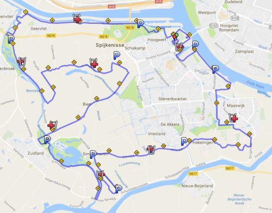 spijkenisse-marathon-parcours