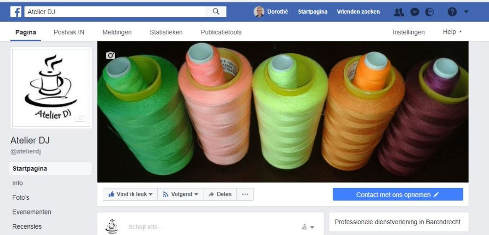 atelier dj op facebook