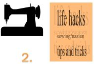Life hacks sewing/naaien tips en trics 2.
