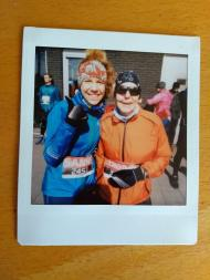 Geklopt: halve marathonUtrecht