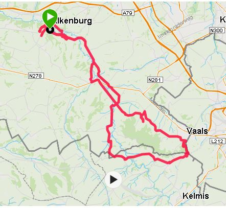 valkenburg Vaals fietsen route. JPG