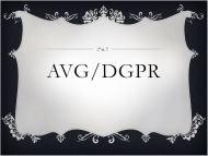AVG – DGPR